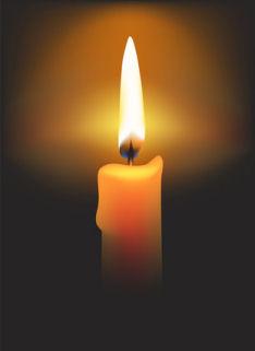Saying Goodbye Candle Lighting