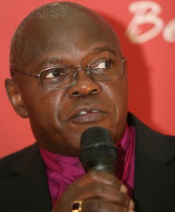 Dr John Sentamu, Archbishop of York : Ambassador