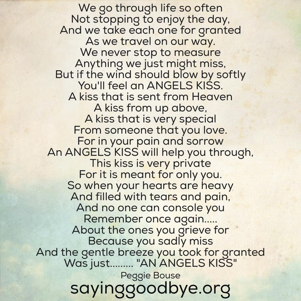 Poems | Saying Goodbye