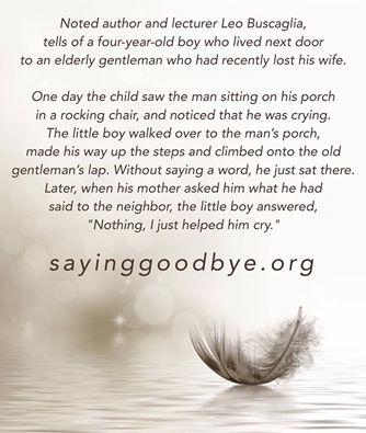 Poems | Saying Goodbye