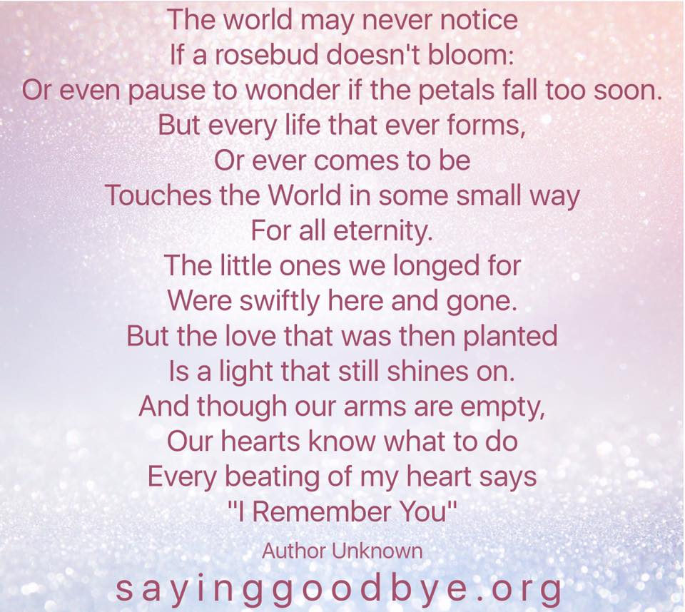 Poems Saying Goodbye