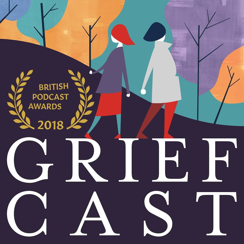 Listen to Zoe on the Griefcast Podcast